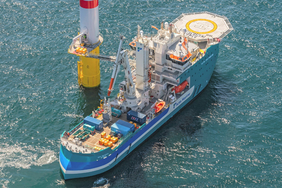 Acta Marine seeks partner for further expansion in offshore wind